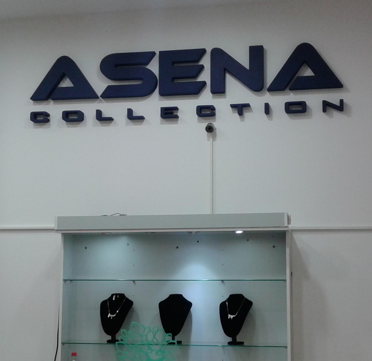 Asena - 3D natpis