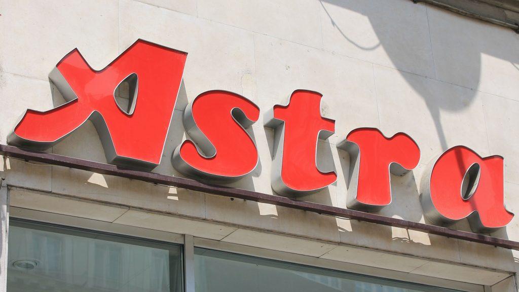 Astra svjetleca reklama 3