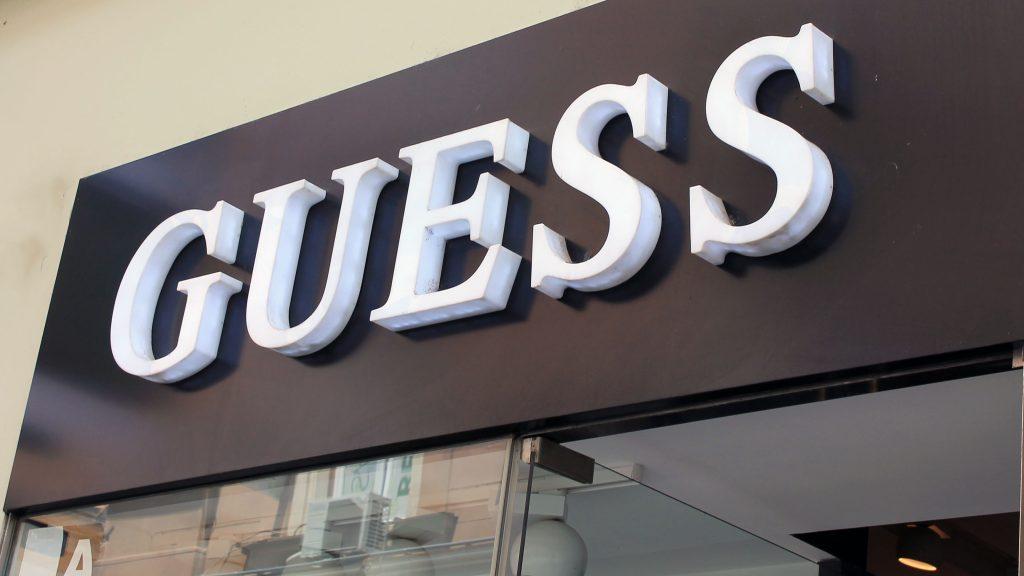 Guess svjetleca reklama 2