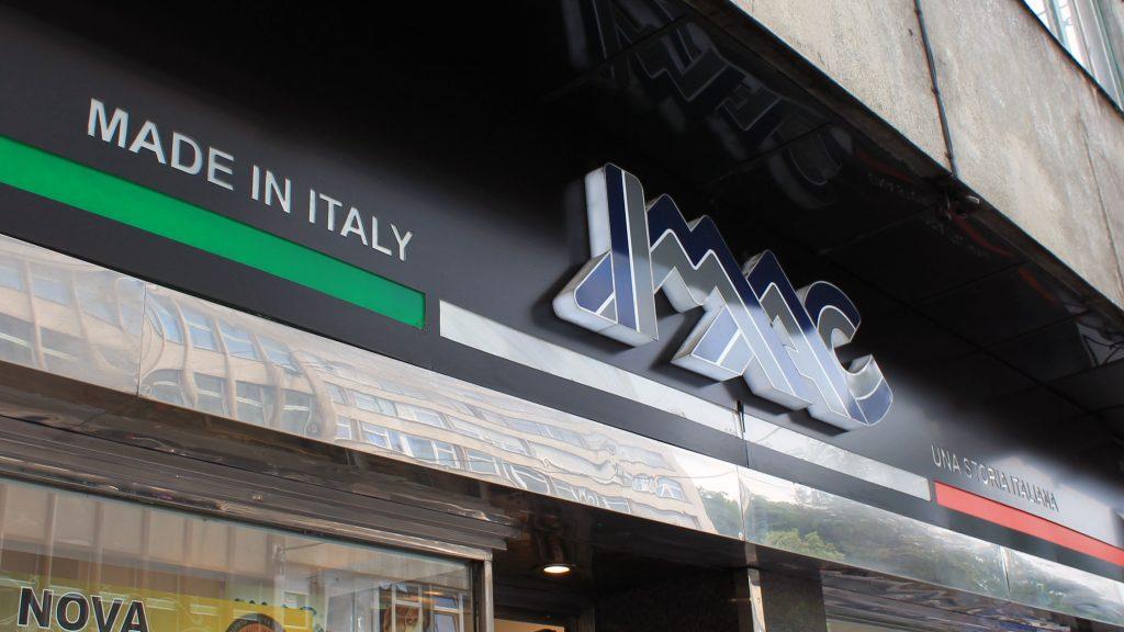 IMAC svjetleca reklama 2