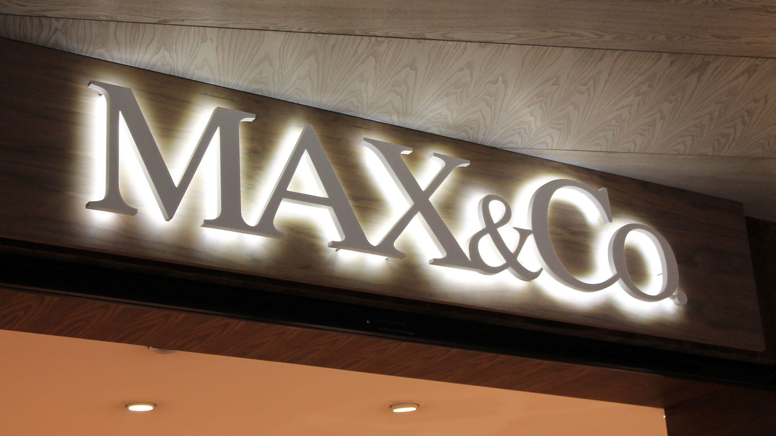 MAX CO LED reklama