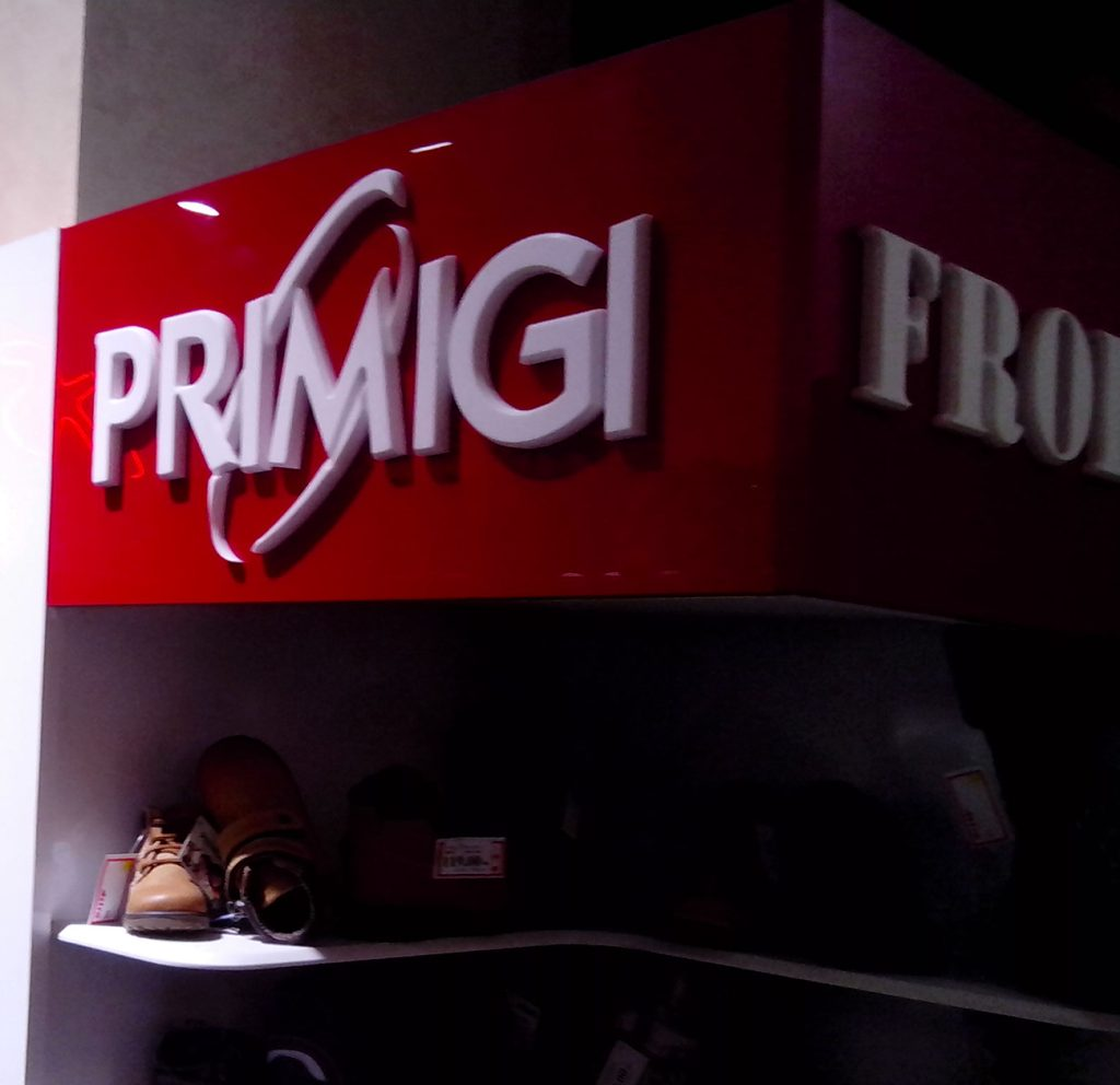 Primigi - 3D natpis