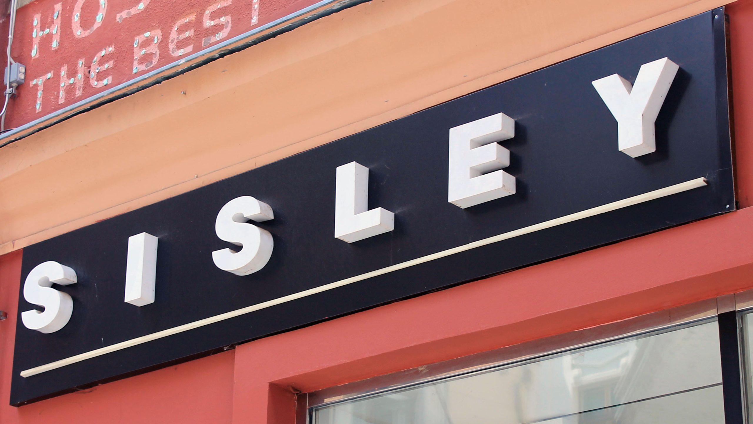 Sisley svjetleca reklama